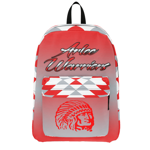 Arlee Warriors Backpack (Red & Gray)