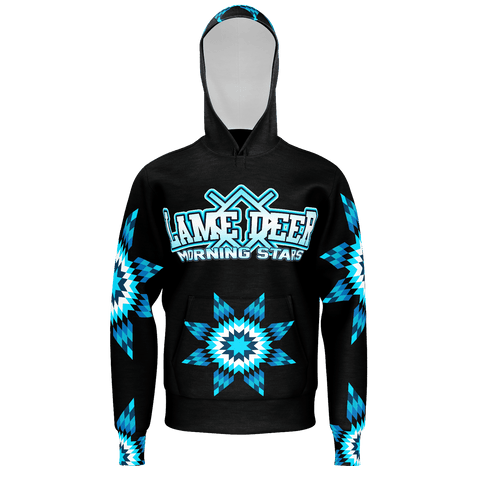Lame Deer Morning Stars Hoodie