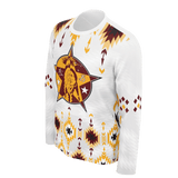 2019 Rocky Boy Star Warmups White