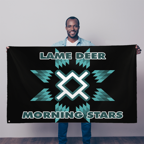 Lame Deer 3 Sublimation Flag