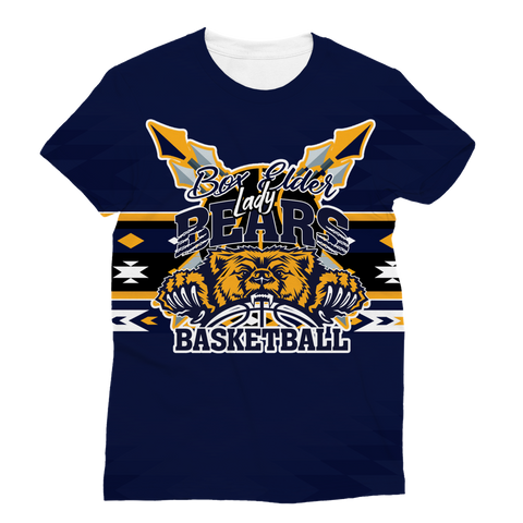 Box Elder Bears Battle Shirt Classic Sublimation Women's T-Shirt