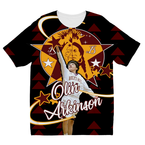 Olin Arkinson Sublimation Kids T-Shirt