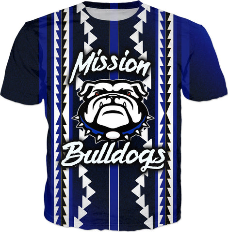 Mission Bulldogs All Over