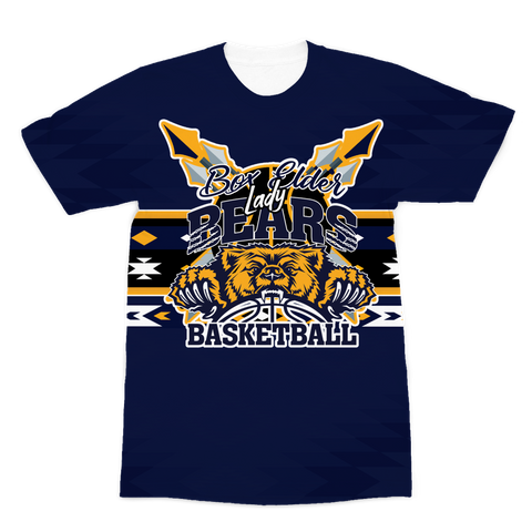 Box Elder Bears Battle Shirt Premium Sublimation Adult T-Shirt