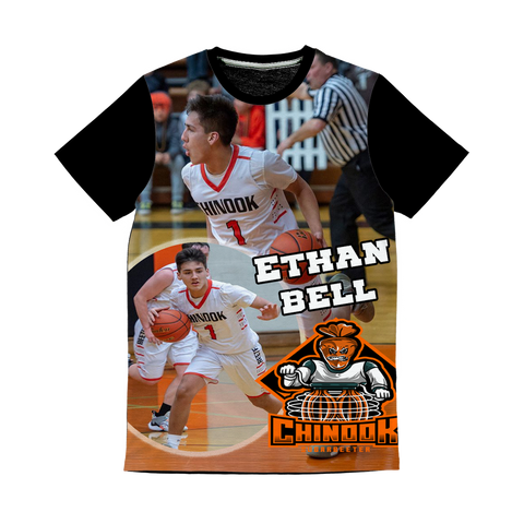 Ethan Ethan Bell Classic Sublimation Panel T-Shirt