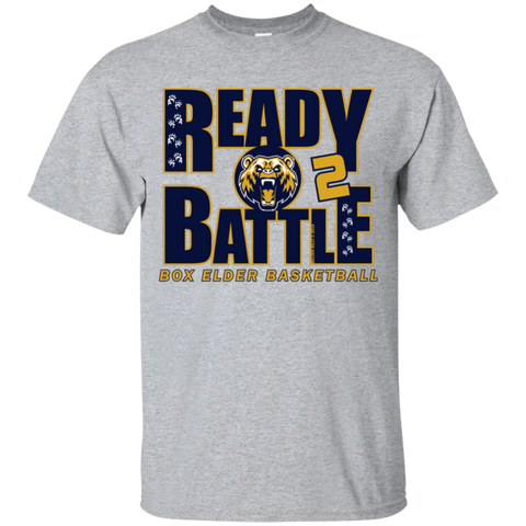 Box Elder Bears Ready 2 Battle Gildan Youth Ultra Cotton T-Shirt