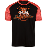 Chinook Sugarbeeters Sport-Tek Youth CamoHex Colorblock T-Shirt