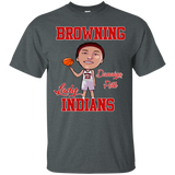 Browning Lady Inidans Danaiya Polk Gildan Ultra Cotton T-Shirt
