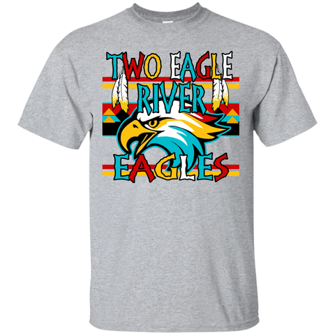 Two Eagle River Eagles Gildan Ultra Cotton T-Shirt