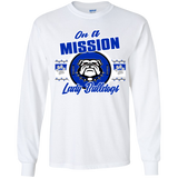 Mission Lady Bulldogs Gildan Youth LS T-Shirt
