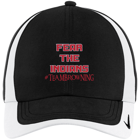 Browning Fear the Indians Nike Colorblock Cap