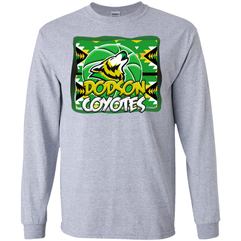 Dodson Coyotes Gildan LS Ultra Cotton T-Shirt