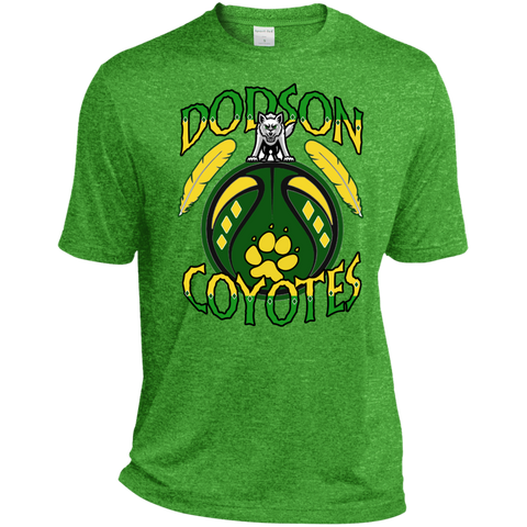 Dodson Coyotes Sport-Tek Heather Dri-Fit Moisture-Wicking T-Shirt