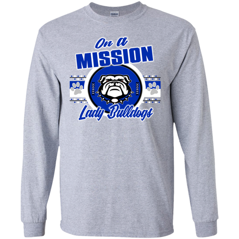 Mission Lady Bulldogs Gildan LS Ultra Cotton T-Shirt