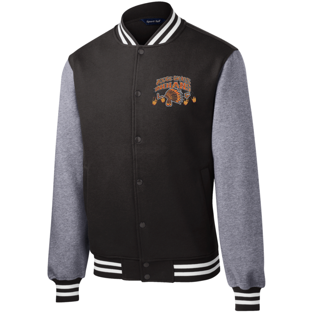 ST270 Sport-Tek Fleece Letterman Jacket