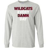 Harlem Wildcats Every Damn Day Gildan LS Ultra Cotton T-Shirt