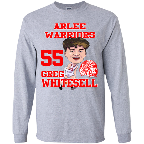 Arlee Warriors Greg Whitesell Gildan Youth LS T-Shirt
