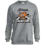 Chinook Sugarbeeters District 9C Champion Port and Co. Youth Crewneck Sweatshirt