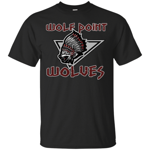 Wolf Point Wolves Gildan Ultra Cotton T-Shirt