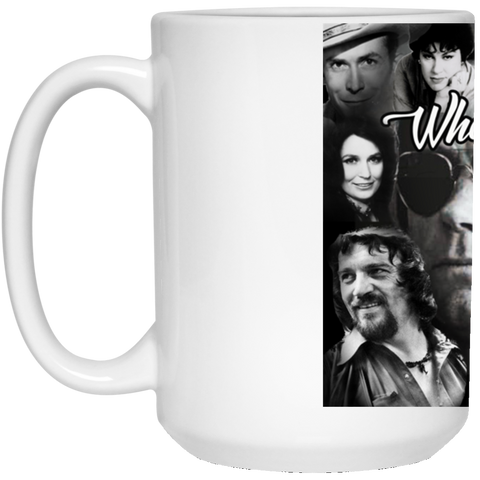 Whose Gonna Fill Their Shoes 15 oz. White Mug