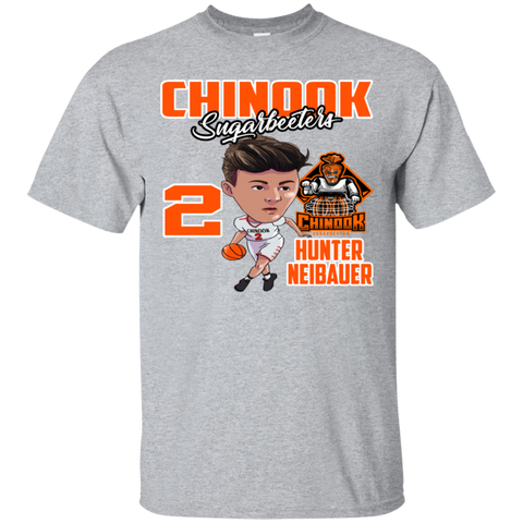 Chinook Sugarbeeters Hunter Neibauer New Gildan Ultra Cotton T-Shirt