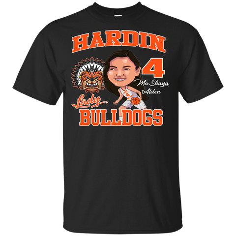Hardin Lady Bulldogs Mashaya Alden Gildan Youth Ultra Cotton T-Shirt