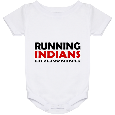 Browning Running Indians Baby Onesie 24 Month