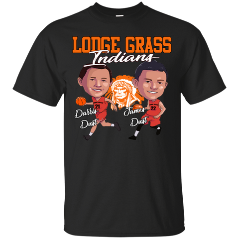 Lodge Grass Indians Dust Kids Gildan Youth Ultra Cotton T-Shirt