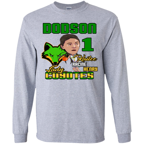 Dodson Lady Coyotes Gildan Youth LS T-Shirt