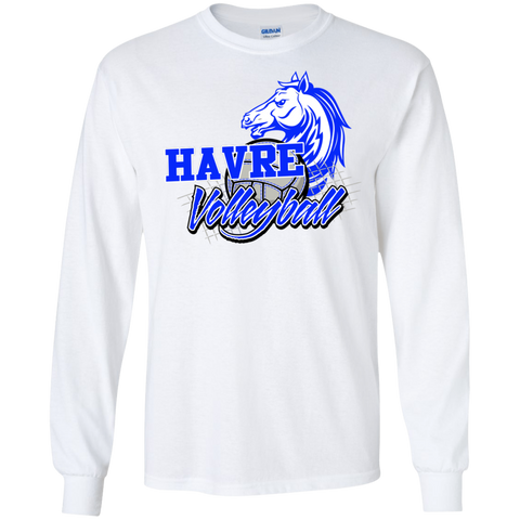 Havre Volleyball Gildan LS Ultra Cotton T-Shirt
