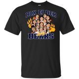 Box Elder Lady Bears Caricature Gildan Youth Ultra Cotton T-Shirt
