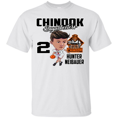 Chinook Sugarbeeters Hunter Neibauer New Orange Gildan Ultra Cotton T-Shirt