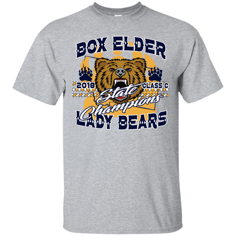 Box Elder Lady Bears Gildan Ultra Cotton T-Shirt