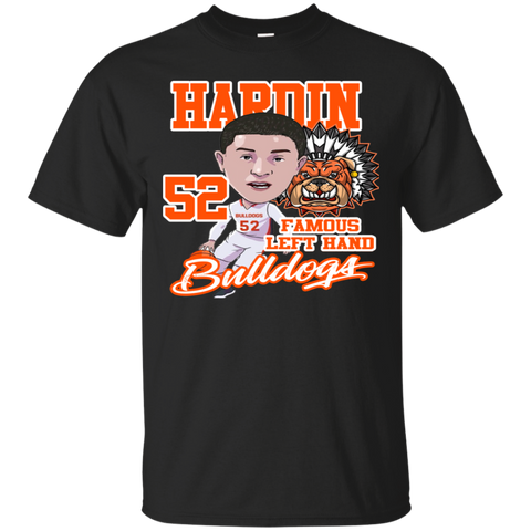 Hardin Bulldogs Famous Lefthand Gildan Ultra Cotton T-Shirt