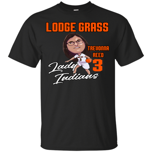 Lodge Grass Lady Indians Trevonna Reed Gildan Youth Ultra Cotton T-Shirt