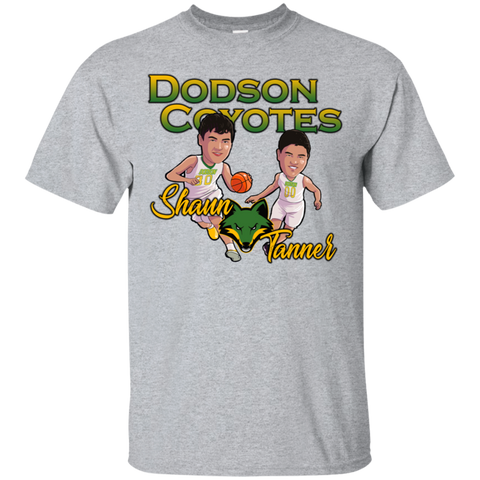 Dodson Caricature Kids Shaun and Tanner Gildan Ultra Cotton T-Shirt