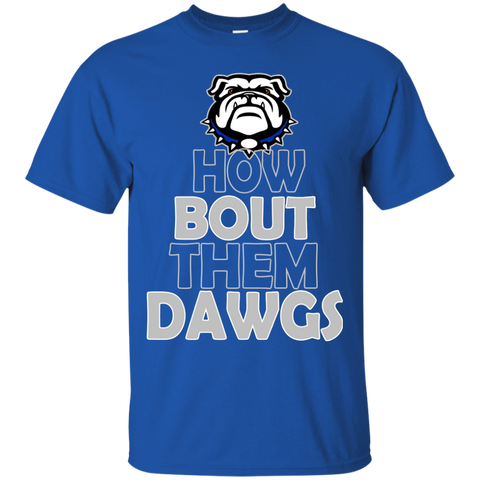 Mission Bulldogs How About Them Dawgs Gildan Ultra Cotton T-Shirt