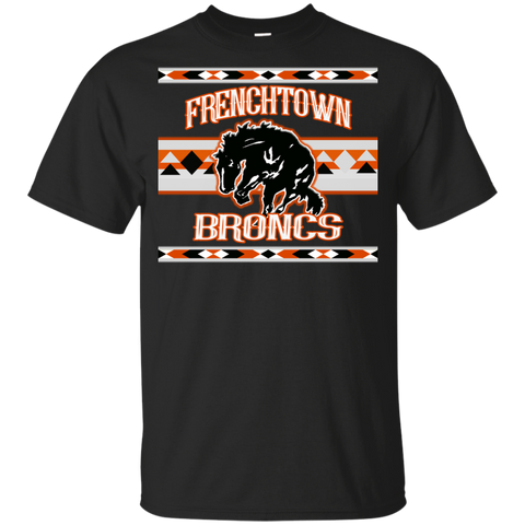 Frenchtown Broncs Gildan Youth Ultra Cotton T-Shirt