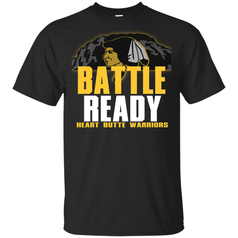 Heart Butte Warriors Battle Ready Gildan Youth Ultra Cotton T-Shirt