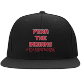 Browning Fear the Indians Sport-Tek Flat Bill High-Profile Snapback Hat