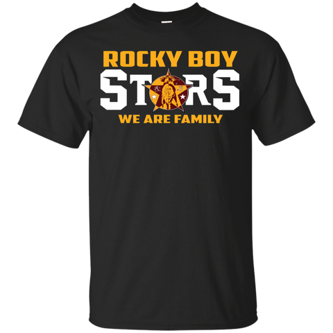 Rocky Boy Stars We Are Family Gildan Youth Ultra Cotton T-Shirt