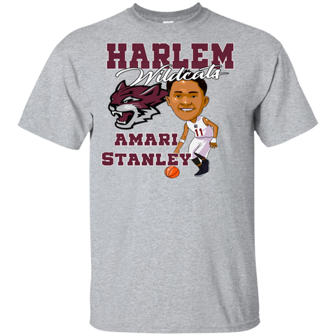 Harlem Wildcats Amari Stanley Gildan Youth Ultra Cotton T-Shirt