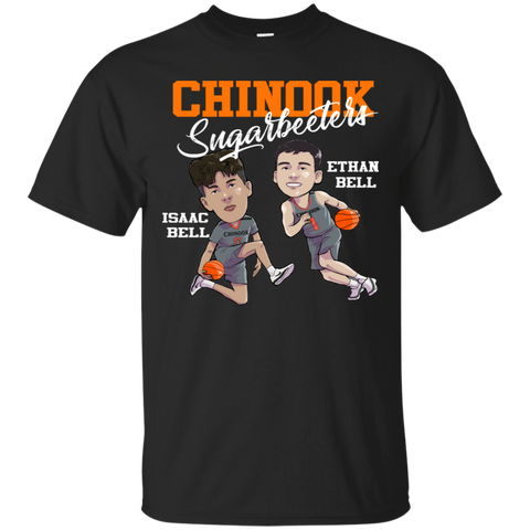 Chinook Sugarbeeters Caricature Kids- Isaac & Ethan Gildan Ultra Cotton T-Shirt