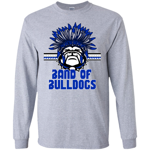 A10-Mission-Band of Bulldogs- Gildan LS Ultra Cotton T-Shirt