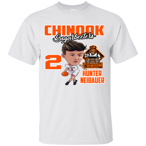 Chinook Sugarbeeters Hunter Neibauer New Gildan Youth Ultra Cotton T-Shirt