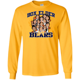 Box Elder Lady Bears Caricature Gildan LS Ultra Cotton T-Shirt