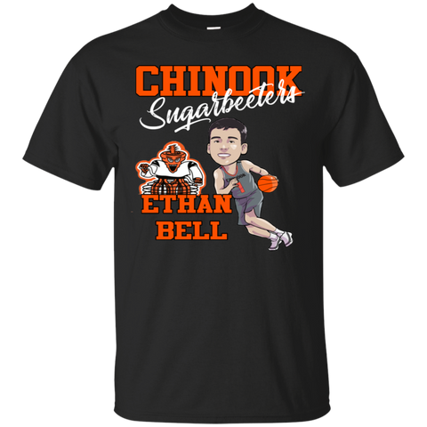 Chinook Sugarbeeters Ethan Bell Caricature Kid Gildan Ultra Cotton T-Shirt
