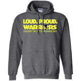 Heart Butte Loud and Proud Tee Gildan Pullover Hoodie 8 oz.