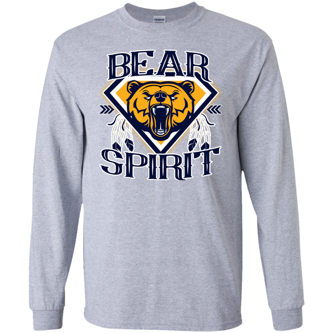 Bear Spirit Gildan LS Ultra Cotton T-Shirt