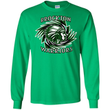 Brockton Warriors Gildan LS Ultra Cotton T-Shirt
